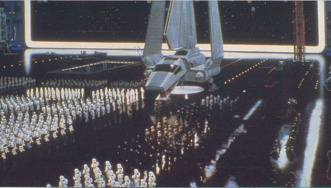 Fondos de la Guerra de las Galaxias que jamás imaginaste fueran pintados